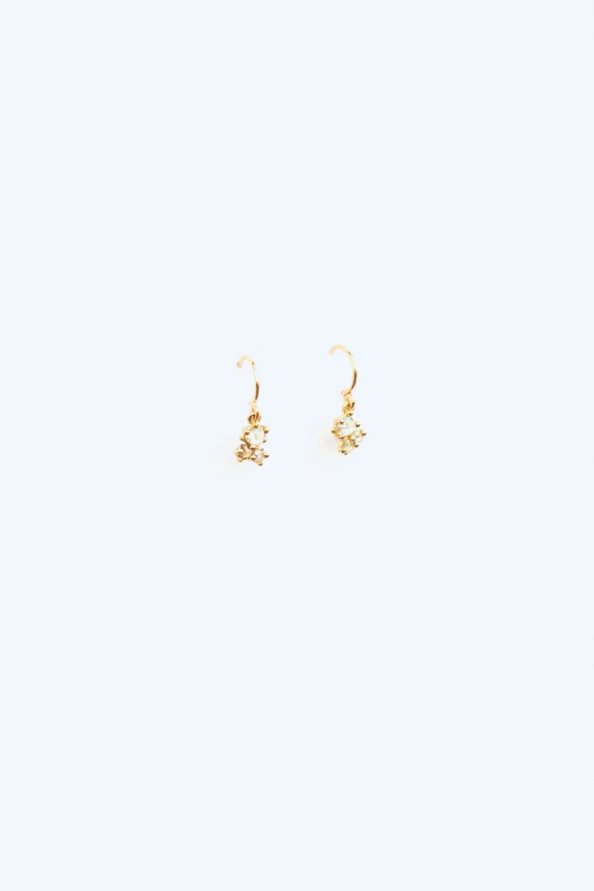 fine diamonds — earrings